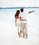 A romantic, scenic stroll